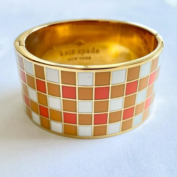 💲SALE💲Kate Spade Checkered Bangle